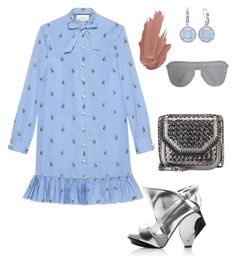 """""""Untitled #361"""" by stylistrr on Polyvore featuring Abcense, Gucci, STELLA McCARTNEY, Brilliance and Versace"""