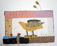 Janet Bolton Judy's Journal: looking at birds in textile books