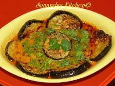 Doi Begun is a very popular Bengali vegetarian dish. This is one of the special item my mother prepares whenever I visit my native. Vegetarian Curry, Vegetarian Cooking, Easy Cooking, Vegetarian Recipes, Cooking Recipes, Cooking Light, Vegan Food, Food Food, North Indian Recipes