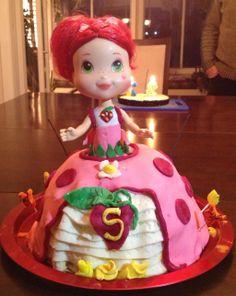 Strawberry Shortcake birthday cake by sedivyk.deviantart.com on @deviantART