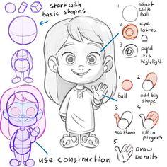 Hoarding something Noodle Li Character Design Girl, Character Design Animation, Character Design References, Character Drawing, Comic Character, Cartoon Art Styles, Cartoon Drawings, Cute Drawings, Drawing Cartoon People