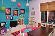 Colorful Playroom!