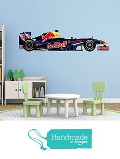 cik30 Full Color Wall decal Race car driver formula speed power children's room from Stickers For Life https://www.amazon.com/dp/B01N0N0334/ref=hnd_sw_r_pi_dp_-KN3yb06KMJE8 #handmadeatamazon