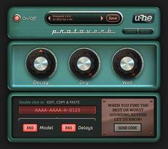 u-he Protoverb free VST/AU reverb plug-in http://www.vstplanet.com/News/15/u-he-releases-protoverb-free-vst-au-reverb-plug-in.htm
