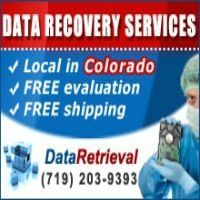 Data Retrieval Colorado Springs  colorado@dataretrieval.com  102 S Tejon St. suite 1100  Colorado Springs, CO 80903  (719) 203-9393     http://www.dataretrieval.com/colorado/data-recovery-colorado-springs.html