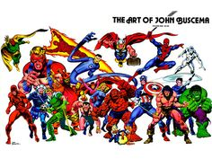 The Art of John Buscema
