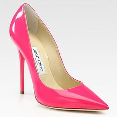 Finest Materials Jimmy Choo UK Sale Best-Brand Special Offers Anouk 120mm Pink Patent Leather Stiletto Pumps