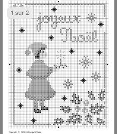 Christmas Cross, Points, Cross Stitch Embroidery, Winter, Punto De Cruz, Xmas, Needlepoint, Cross Stitch Patterns, Christmas Parties