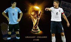 Luis Suarez - Steven Gerrard - Anglicko - Uruguaj