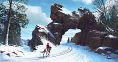 Snow Rider by stayinwonderland on DeviantArt