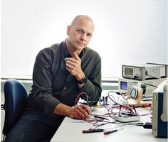 Tony Fadell wearing Ressence Type 3 Photo by Bryce Duffy