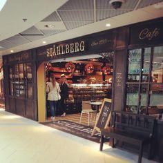 Uusin kahvilavahvistus, Shåhlberg. Tyylikästä ja kutsuvaa. Joko olet käynyt? #Koskikeskus