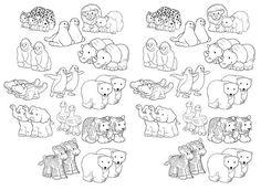 Noahs Ark Free Printable Of Animal Pairs