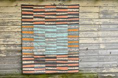 The Maisy Quilt by make_something, via Flickr---again improv quilt with a nice story too!  (made for her dog Maisy)