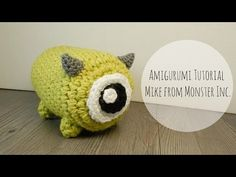 Amigurumi Tsum Tsum Mike Monster Inc Crochet, My Crafts and DIY Projects