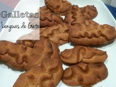 LENGUAS DE GATO ¡¡¡galletas aptas para diabéticos, celíacos e intolerantes a la lactosa!!!