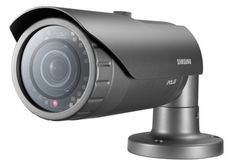 SS301 - SAMSUNG SNO-6011R CCTV BULLET CAMERA 1080P HD WEATHERPROOF IP66 NETWORK IR 2MP POE BUILT-IN 3.8MM FIXED LENS DAY & NIGHT