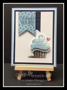 Best Birthday Wishes Girl Stampin Up Ideas Diy Birthday Card, Birthday Wishes Girl, Handmade Birthday Cards, Birthday Greetings, Birthday Bash, Birthday Quotes, Karten Diy, Birthday Cupcakes, Oreo Cupcakes