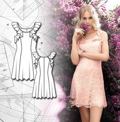 Sewing Lesson: Flared Dress 109 05/2015