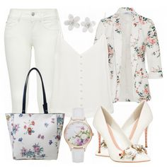 Business Outfits: FlowersinWhite bei FrauenOutfits.de