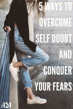 Over come that self-doubt and negative self talk that is holding you back from…