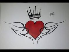 Imagen relacionada Cat Silhouette Tattoos, Heart Coloring Pages, Beauty Video Ideas, Sharpie Art, Emo Scene, Black Art, Easy Drawings, Art Sketches, Tattoo Designs