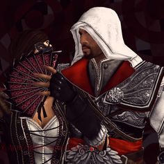 Shielded Heart: How To Stop Yourself From Falling For A Seduction Target Assassin's Creed Brotherhood, Dont Fall In Love, Falling In Love, Assasing Creed, Assassins Creed 2, Video Games, Fandoms, Characters, Persona