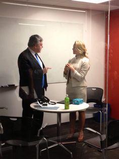 Twitter / sjlee: Gordon Brown and Laurene Jobs ...