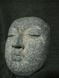 Buddha woodfired ceramic face mask by Sentorayaki on Etsy