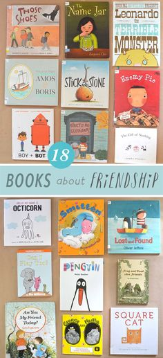 I am a picture book lover and collector, and my favorite ones are about friendship. When my children were little and September came around, there were certa Preschool Books, Book Activities, Sequencing Activities, Kindness Activities, Preschool Ideas, Kids Reading, Reading Lists, Reading Areas, Reading Resources