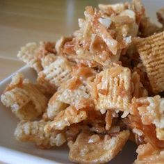 """Toasty Sweet Coconutty Graham Chex Mix®   """"This recipe is addictively delicious!! However, I don't have a bowl big enough to mix this in and my biggest bowl is pretty huge."""""""