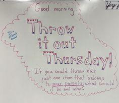 Future Classroom, School Classroom, Classroom Activities, Classroom Organization, Days Of The Week Activities, Morning Activities, Morning Board, Daily Writing Prompts, Bell Work