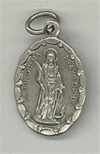 Sainte Philomène. Médaille ovale