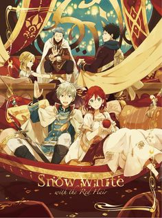 Akagami no shirayuki Snow White with the red hair Bạch tuyết tóc đỏ Manga Anime, Anime Art, Manga Art, Zen Y Shirayuki, Zen Wisteria, Anime Snow, Bd Art, Akagami No Shirayukihime, Snow White With The Red Hair