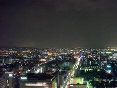 京都の町並み。なんとも都会、、、
