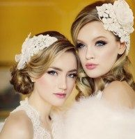 Beautiful headbands with lace applique and silk flowers. by Athena at Angela Marie Lace Applique, Bridal Accessories, Silk Flowers, Headbands, Crown, Inspiration, Beautiful, Jewelry, Fashion