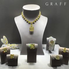 """""""Dazzling Diamonds Graff was founded in 1960 and is synonymous with the most fabulous jewels in the world; including many of the finest yellow diamonds…"""""""