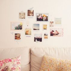 Photo Dots wall decals - no need to use blu tack etc to stick the girls artwork on the walls