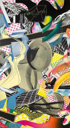 Frank Stella | Die Marquise von O (panel 4) (1999), Available for Sale | Artsy