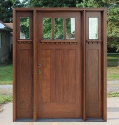 Operable Sidelights With Screens