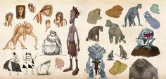 The Croods : Concept Art - Movie Art https://www.facebook.com/CharacterDesignReferences