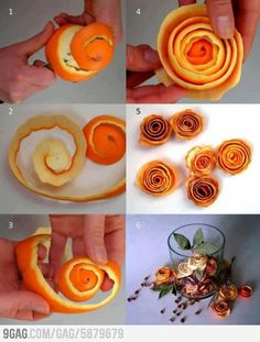Orange Roses, would be great in pot pourri with some cinnamon and cloves Fun Diy Projects For Home, Do It Yourself Projects, Diy And Crafts, Project Ideas, Handmade Crafts, Oyin Handmade, Handmade House, Handmade Rugs, Handmade Knives