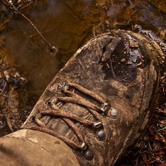 #meindl #boot #wet #muddy #forest