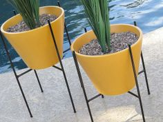 Pair of Large Modern Mid Century  Case Study by AtomicMartini, $329.00