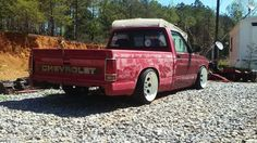 #Chevy_S10 #MiniTruck #Slammed #Stance #Steelies S10 Truck, Chevy Trucks, Small Pickups, S10 Pickup, Chevy S10, Sea To Shining Sea, Mini Trucks, Toyota Hilux, Mini S