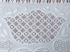 Filling Pattern – No. Completing The Square, Thread Up, Satin Stitch, Darning, Hand Embroidery, Crochet Top, How To Look Better, Blog, Fabric