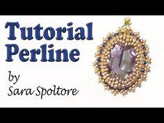 Sarubbest: tutorial orecchini - Orecchini con perline - DIY orecchini - YouTube