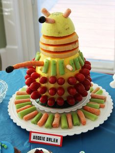 Veggie Dalek. This is officially how I want all my crudités.