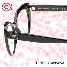 384726afa These Dolce&Gabbana DG3255 glasses in black are an elegant combination of  feminine cateye curves and gutsy