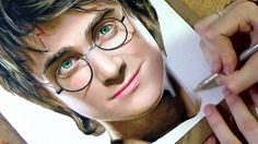 Want to see how its done?    Here is a Time elapsed  Prismacolor colored pencil drawing of Daniel Radcliffe as Harry Potter.